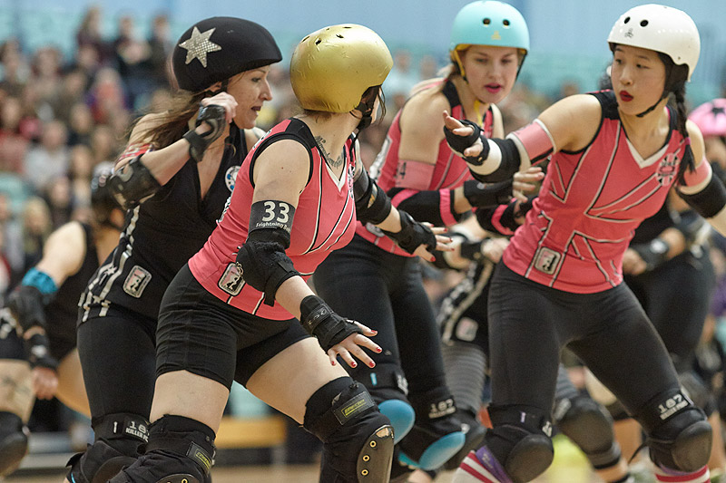 London Rollergirls versus Windy City