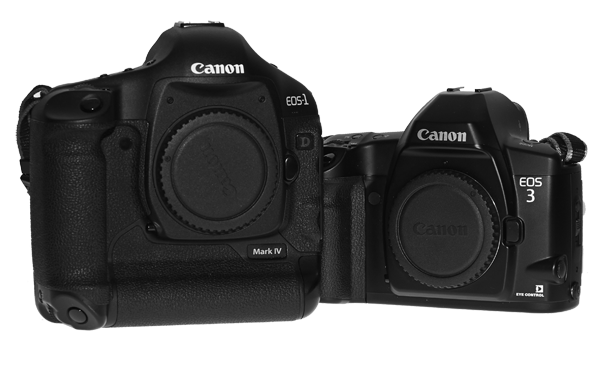 Canon EOS 1d mkiv and EOS 3