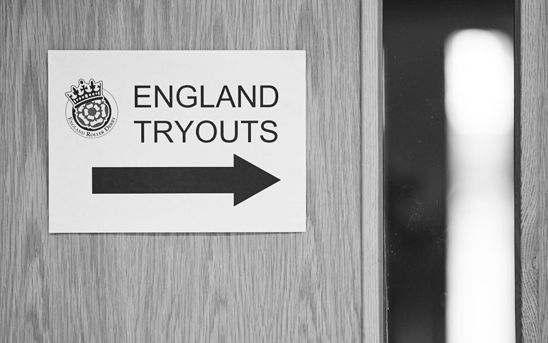 England Tryouts this way