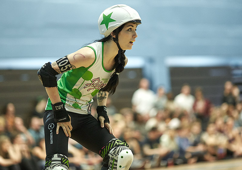 London Rockin' Rollers vs Brussels Derby Pixies