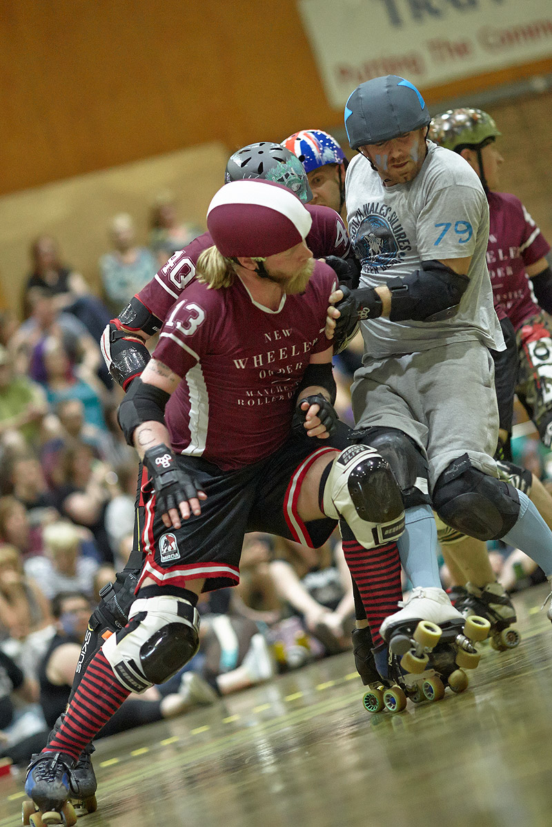 Manchester Roller Derby versus South Wales Silures