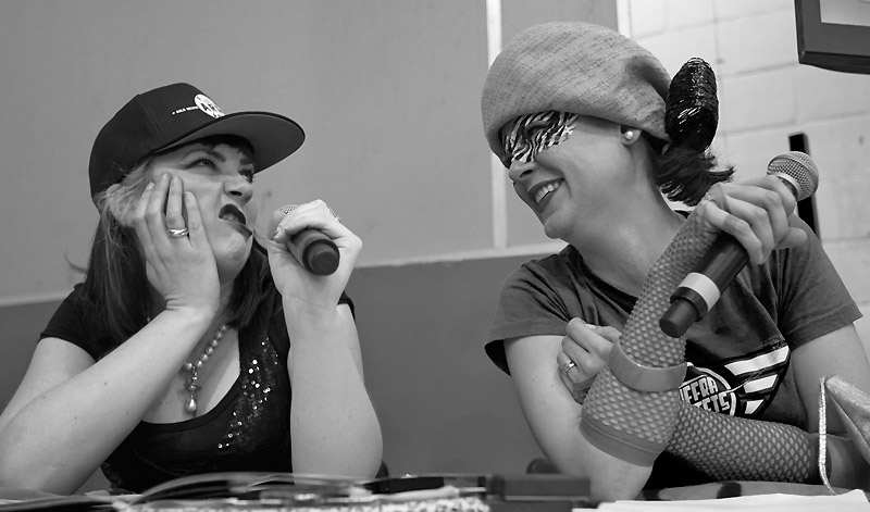 Announcers for London Rollergirls
