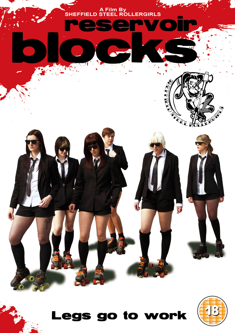 Reservoir Blocks from the Sheffield Steel Rollergirls film calendar