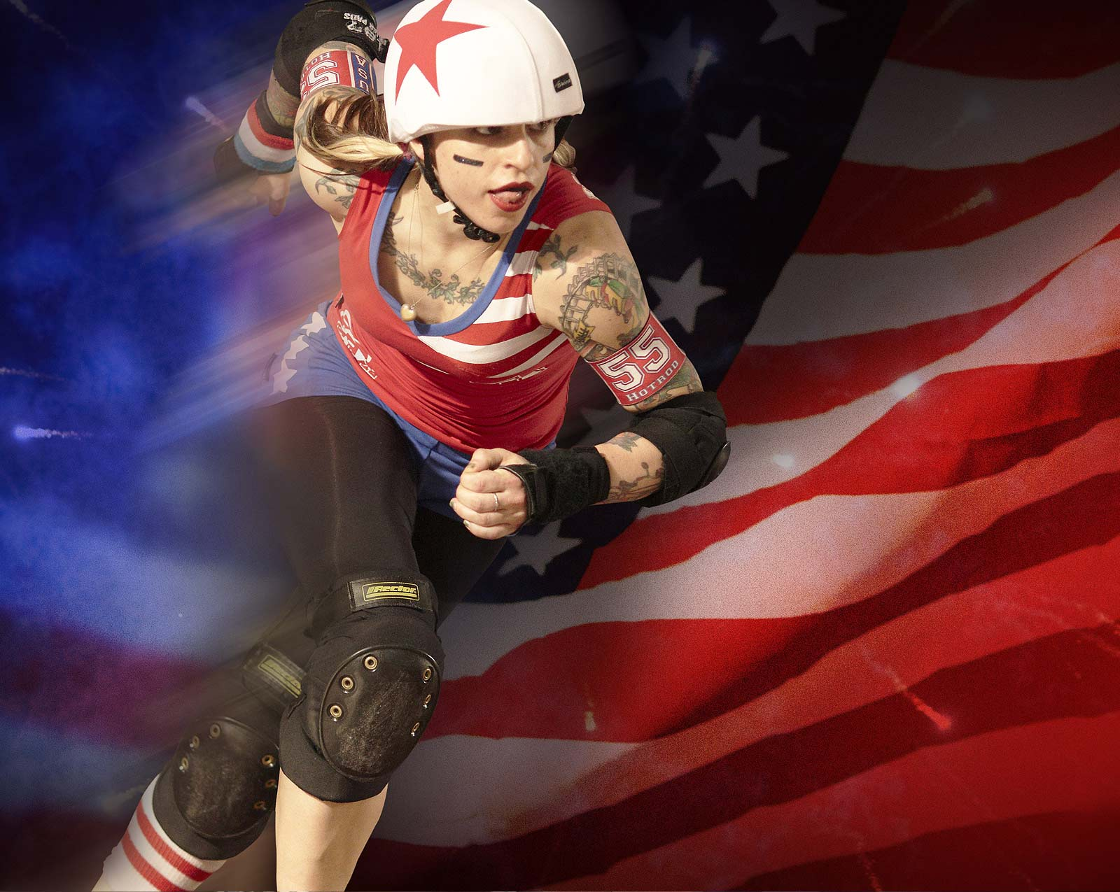 Suzy Hotrod - Team USA